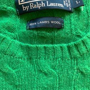 Ralph Lauren lamb's wool sweater